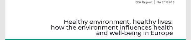 Informe Healthy environment, healthy lives